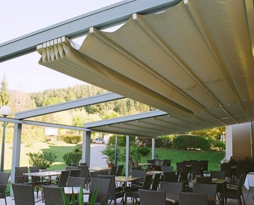 Pergole Retractabie
